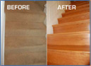 Before/After Stairs Retread